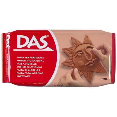 DAS Modelling Clay Terracotta, 2 sizes