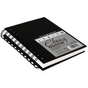 Ebony Hardback Spiral Sketchbook