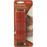 Derwent Drawing Pencil Blister of 6