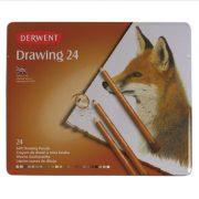 Derwent Drawing Pencil Tin of 24