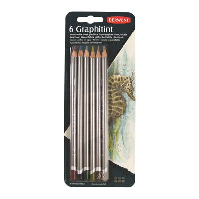 Derwent Graphitint Pencil Blister of 6