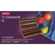 Derwent Coloursoft Pencil Wooden Box of 72