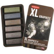 Derwent XL Graphite Block Tin of 6