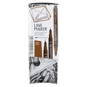 Derwent Graphik Line Maker - Sepia Set of 3