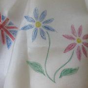 Derwent Inktense Pencil on silk fabric