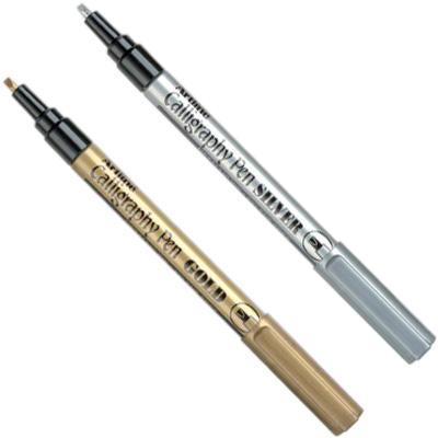 Artline Calligraphy Pens Metallic