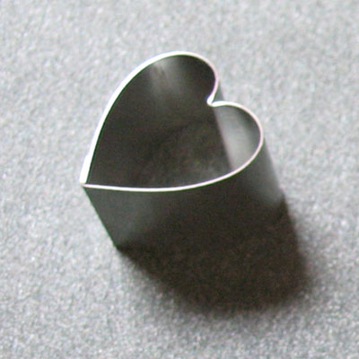 Fine Cut Heart Shaped Cutters