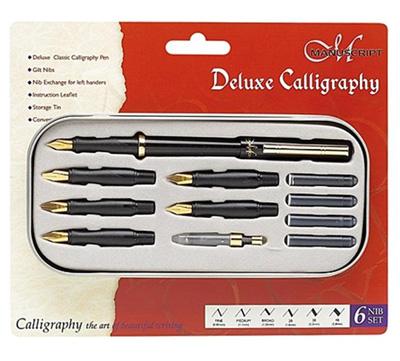 Manuscript Deluxe Calligraphy Sets