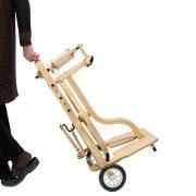Schacht Matchless Spinning Wheel Cart