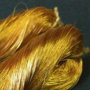 300 Denier Silver Metallised Yarn - Gold