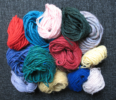 200g Mixed Yarn Bag