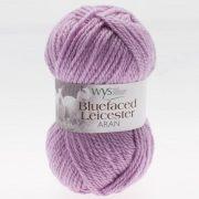 Bluefaced Leicester Aran Yarn - Pastel Lavender