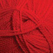 Ashford Tekapo Dk wool yarn - Traditional Red