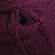 Ashford Tekapo DK wool yarn - Plum