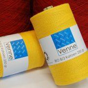 Venne Organic Cotton Yarn Nm 14/2, 6700m, 1kg Cones