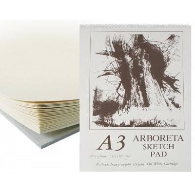 Arboreta Spiral Sketch Pad 160gsm
