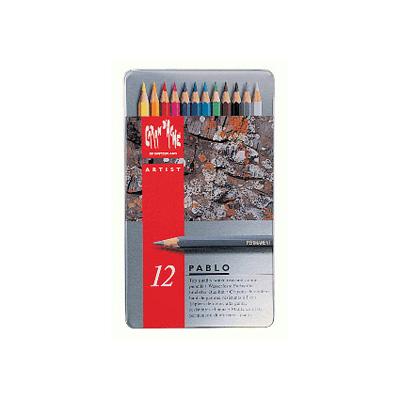 Caran d'Ache Pablo Colour Pencil Tin 12
