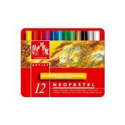 Caran d'Ache Neopastel Oil Pastels Metal Tin 12