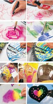 Caran d'Ache Neocolor II Wax Pastels Tin 10