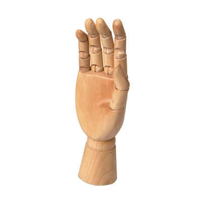 Poseable Male Hand - small