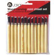 Wood carving mini chisel set of 12