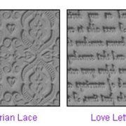 Lisa Pavelka Texture Stamps - Romance