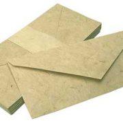 Printable Lokta Paper Envelopes 23 x 10cm