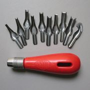 Essdee Lino Cutting Set - Handle and 10 cutters