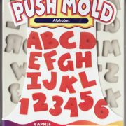 Sculpey Mould - Alphabet