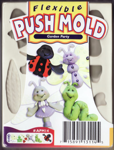 Sculpey Mould - Garden Party