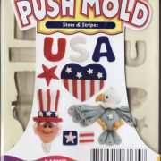 Sculpey Mould - Stars and Stripes