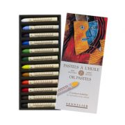 Sennelier Oil Pastels - Set 12 x Assorted