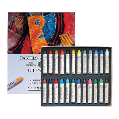 Sennelier Oil Pastels - Set 24 x Assorted