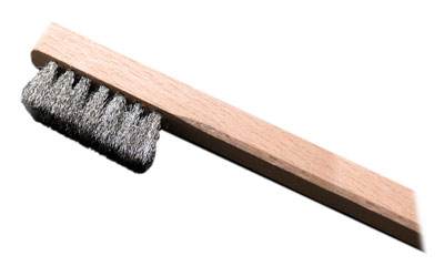 Stainless Steel Brush - long bristles
