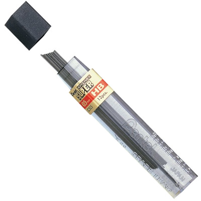 Pentel Super Hi-Polymer Refill Leads 0.5mm