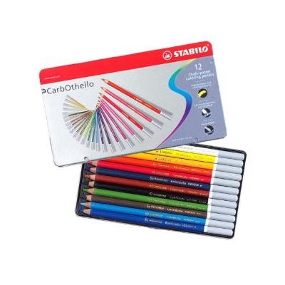 Stabilo Carbothello Pastel Pencils - Tin of 12