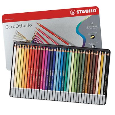 Stabilo Carbothello Pastel Pencils - Tin of 36