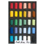 Unison Colour Soft Pastels - Half Stick Set 30