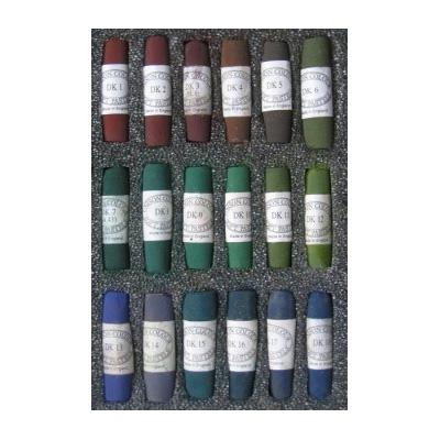 Unison Colour Soft Pastels - Set 18 Dark