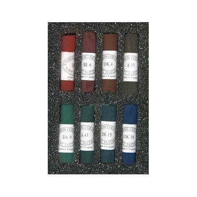 Unison Colour Soft Pastels - Set 8 Dark