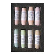 Unison Colour Soft Pastels - Set 8 Light