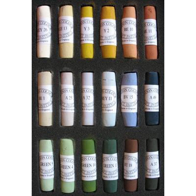Unison Colour Soft Pastels - Set 18 Landscape