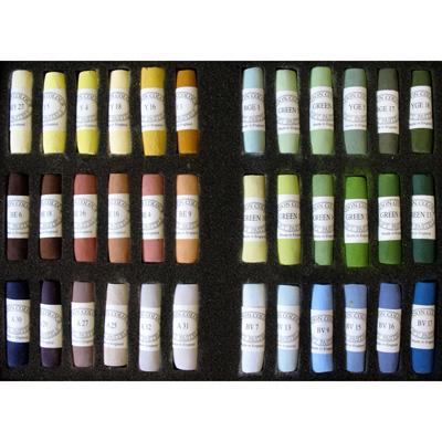 Unison Colour Soft Pastels - Set 36 Landscape