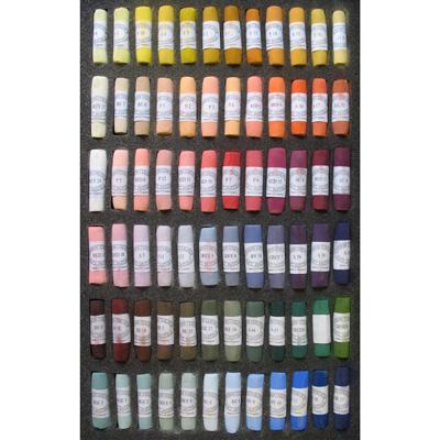 Unison Colour Soft Pastels - Set 72 Portrait