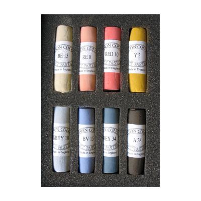 Unison Colour Soft Pastels - Set 8 Portrait