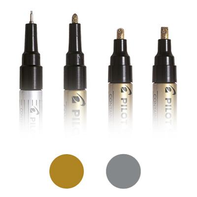 Pilot Super Color Metallic Marker Pens