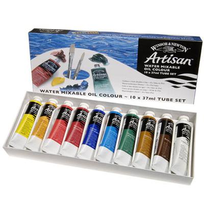 Artisan Water Mixable Oil Colour 10 x 37ml tube set