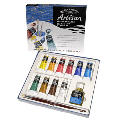 Artisan Water Mixable Oil Colour Beginners Set 6 x 37ml
