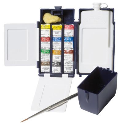 Winsor & Newton Professional Water Colour Field Box 12 Half Pans