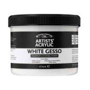 Artists Acrylic White Gesso Primer - 450ml